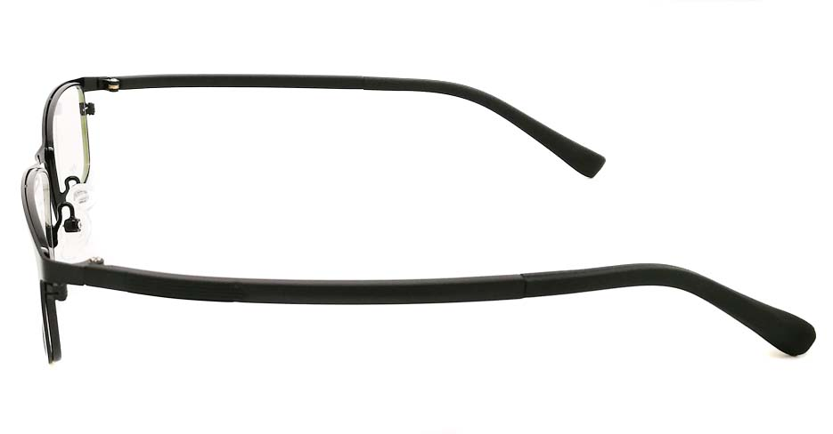 Blend black oval glasses frame JX-8587-C4