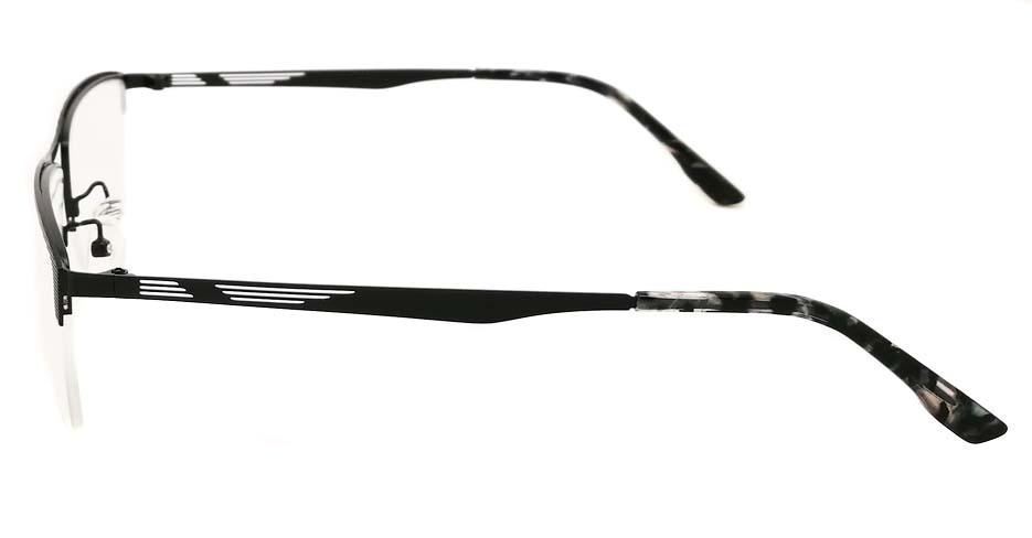 Black Rectangular blend glasses frame JX-32032-HS