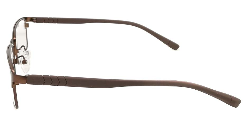 Brown blend  Rectangular  glasss frame P8021-c3