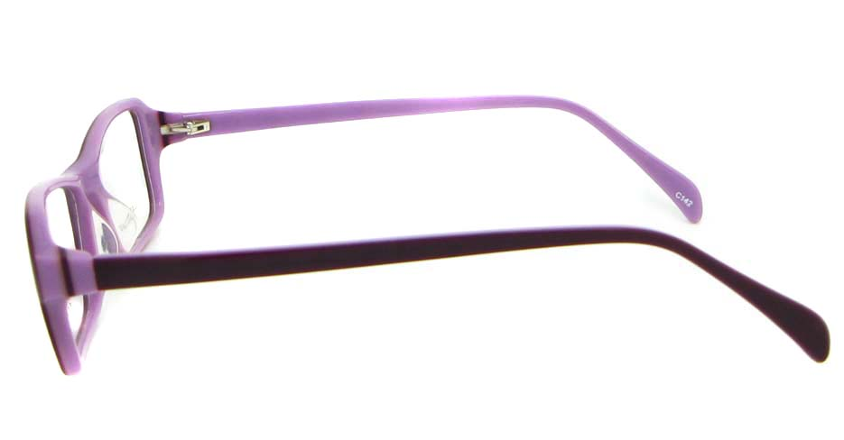 purple Acetate Rectangular glasses frame WKY-BL6158-C142