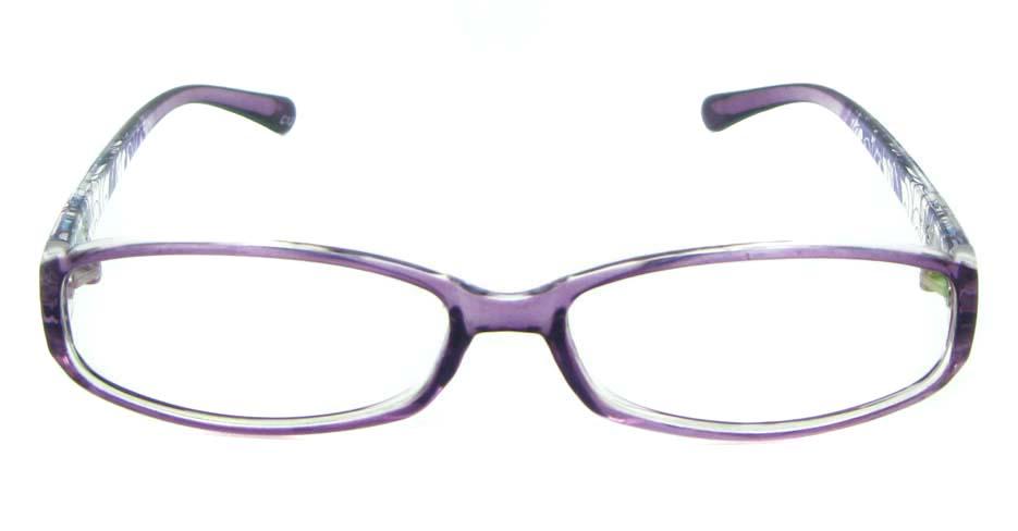 purple with blue tr90 Rectangular glasses frame JNY-ASD2158-C137