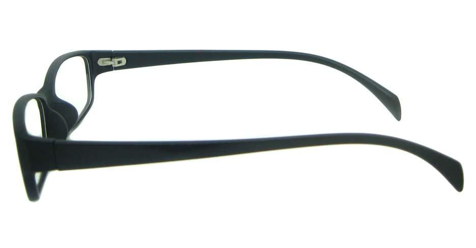 black tr90 Rectangular glassses frame YL-KDL8047-C2