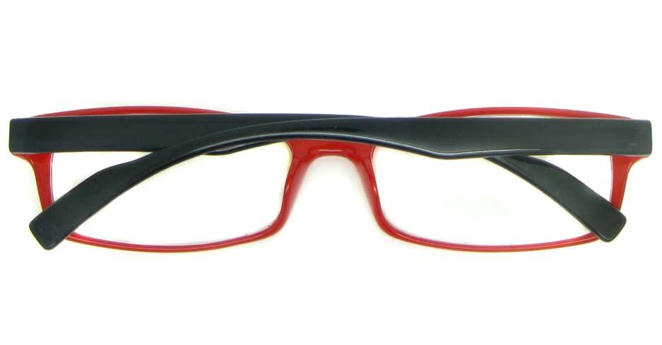 blue with red tr90 Rectangular glasses frame YL-KLD8008-C7