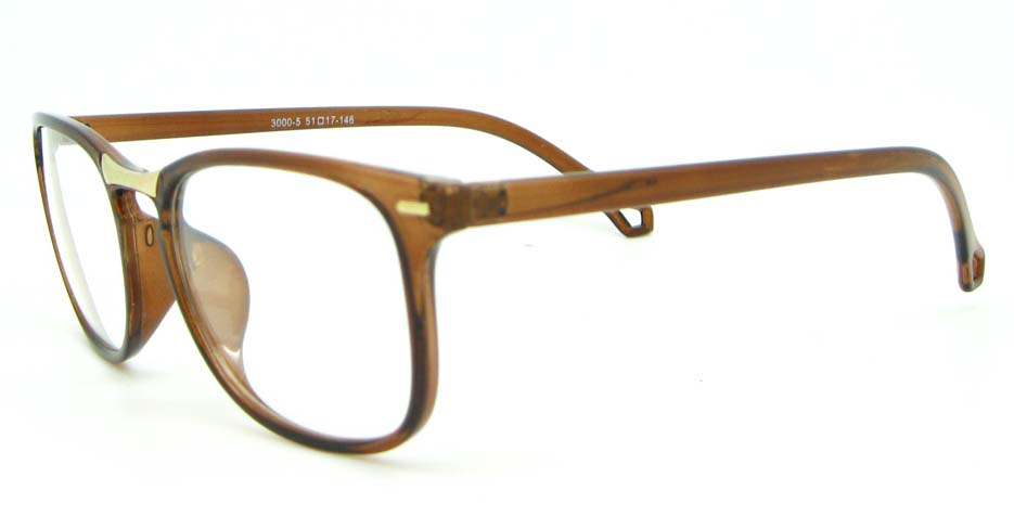 brown  blend Wayfarer  glasses frame WLH-3000-C5