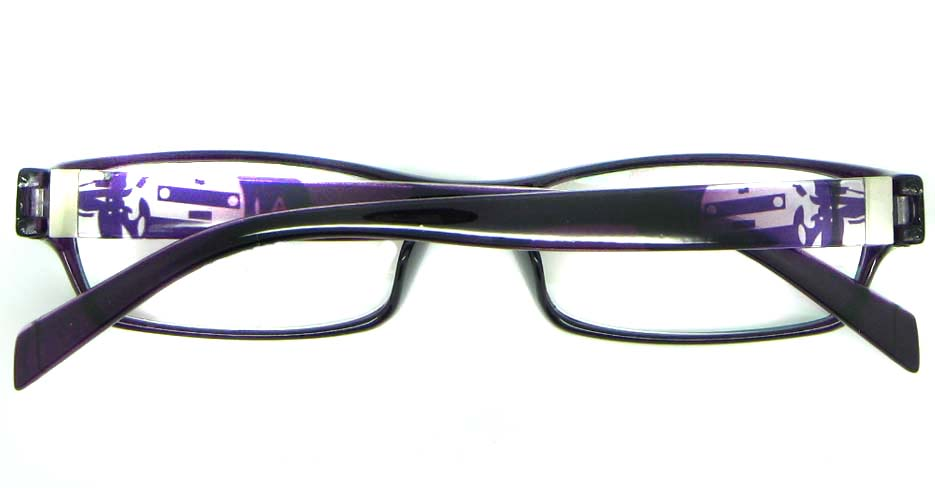 purple tr90 rectangular glasses frame JNY-ASD2155-C74