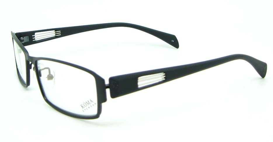 black oval blend glasses frame JNY-KM1821-C4