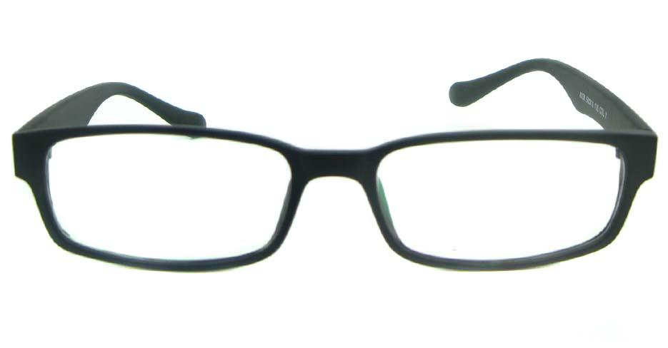 black tr90 Rectangular glasses frame YL-KDL8039-C2