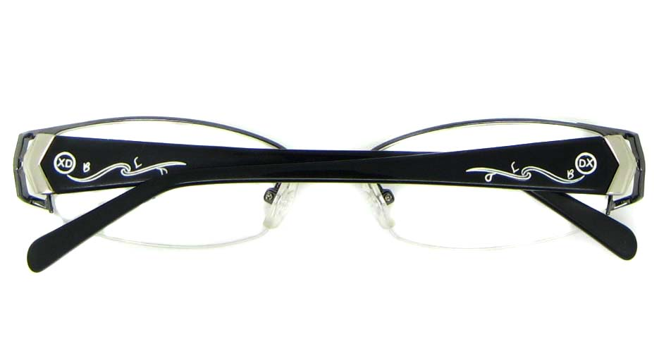 black Rectangular blend glasses frame WKY-XDBL6867-Q