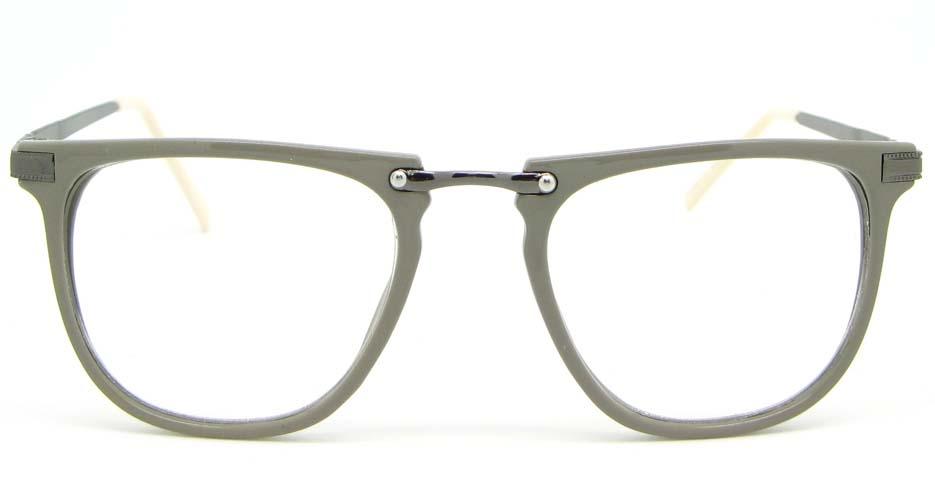 dary grey Wayfarer blend glasses frame WLH-5025-C13