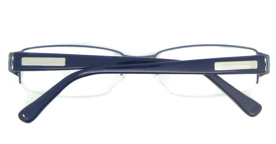 black blend rectangular glasses frame YL-WORD1306-C17