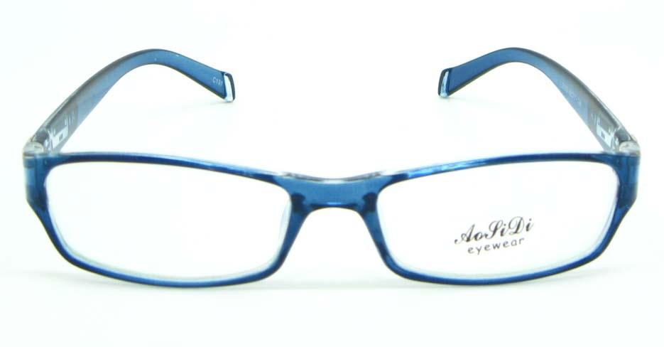 blue tr90 rectangular glasses frame JNY-ASD2155-C131