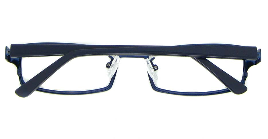 black with blue blend rectangular glasses frame WKY-XDBL6892-L