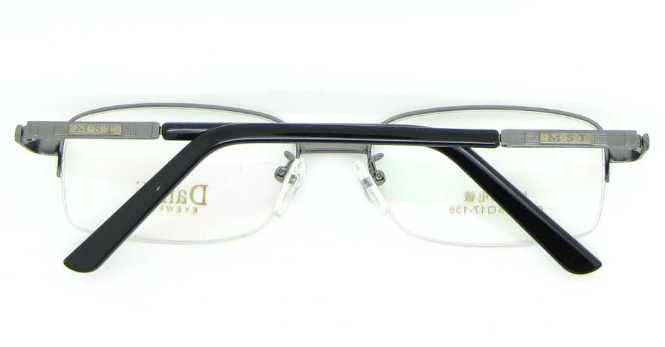 gun metal Rectangular glasses frame WKY-DNI6026-Q