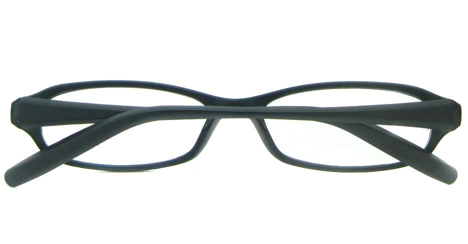 black tr90 rectangular glasses frame YL-KLD8022-C2