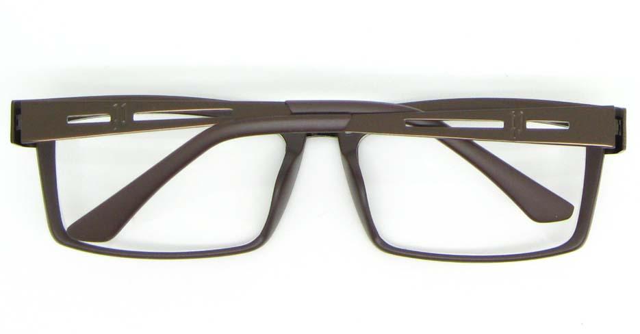 gun blend rectangular glasses frame WLH-SH511-C4
