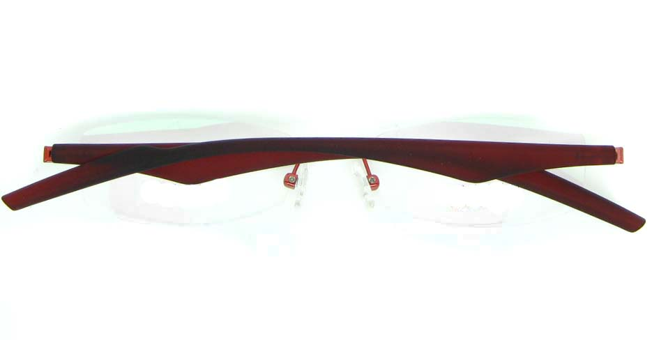 wine blend rectangular glasses frame  JNY-JIONG1197-H