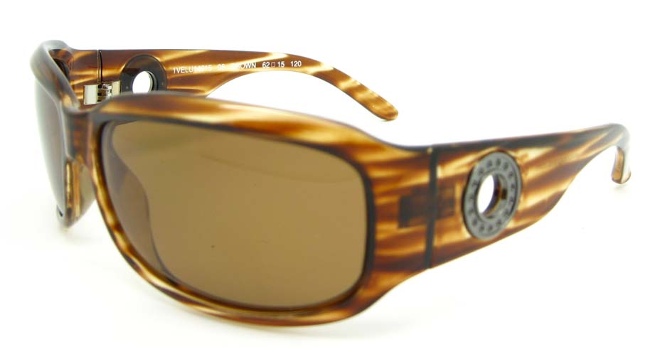 Tortoise Plastic Oval  Leisure sunglasses  XL043