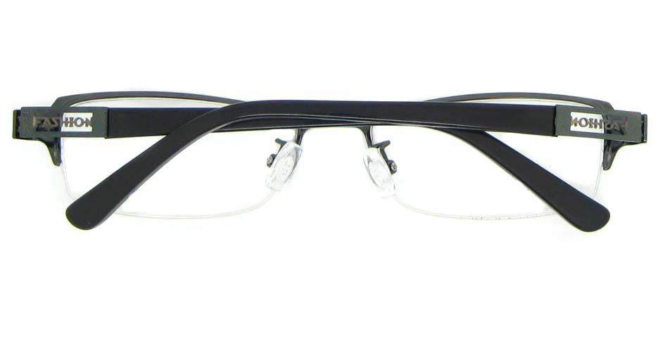black blend Rectangular glasses frame WKY-KM22122-Q