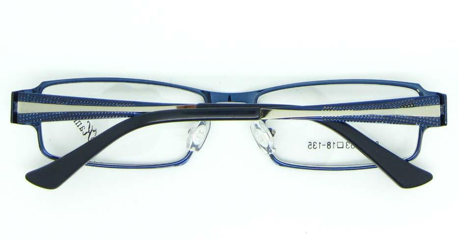 blue tr90 oval glasses frame JNY-KM8885-L