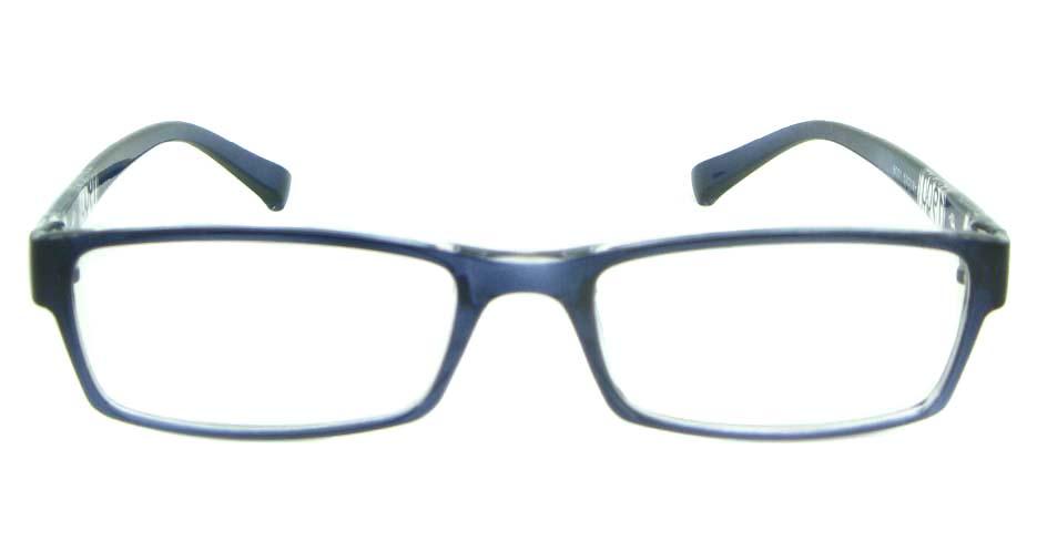 blue Rectangular tr90 glasses frame YL-KLD8001-C3