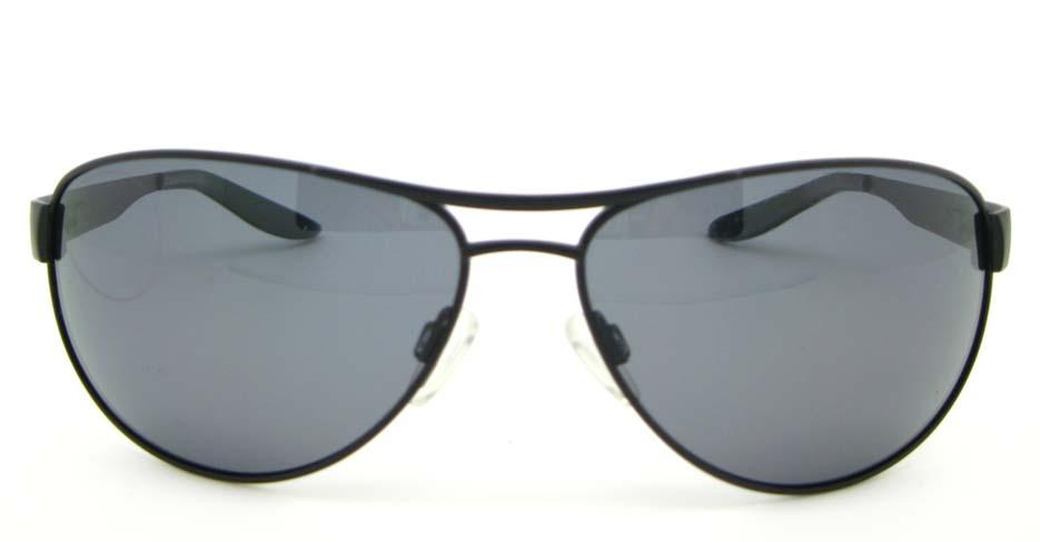 Aviator fashion  Black Metal  sunglasses  XL023