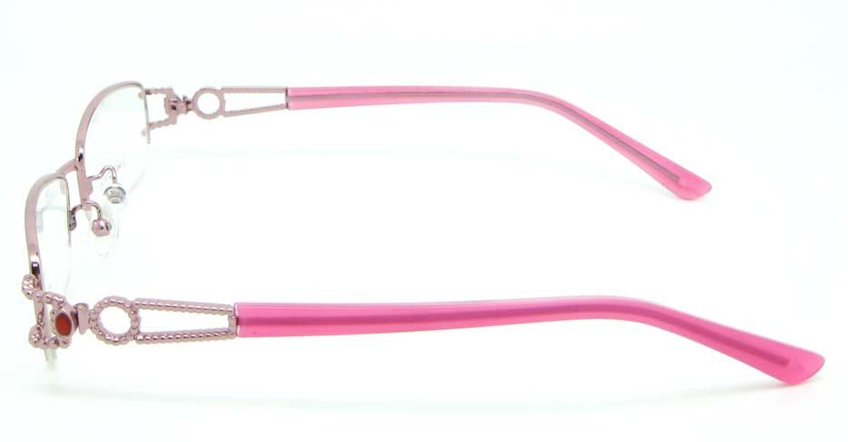 pink blend rectangular glasses frame JNY-SSYZ2146-F