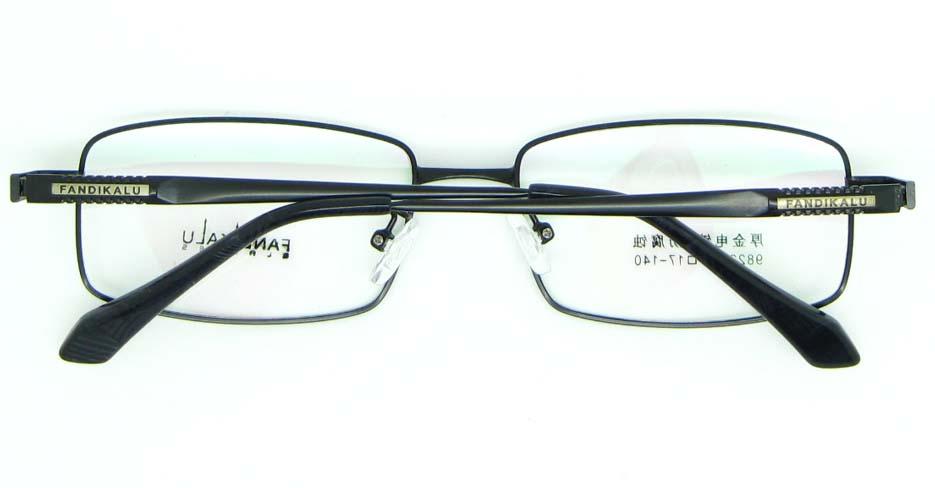 Black metal Rectangular glasses frame JNY-FKL9822-HS