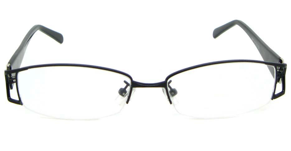 black blend rectangular glasses frame WKY-XDBL6867-HS