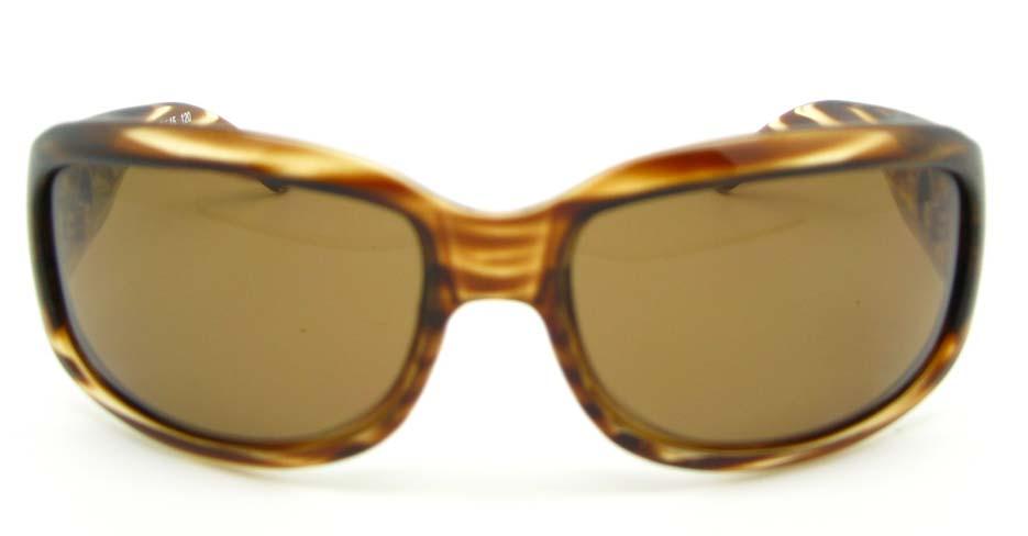 Tortoise Plastic Oval  Leisure sunglasses  XL043