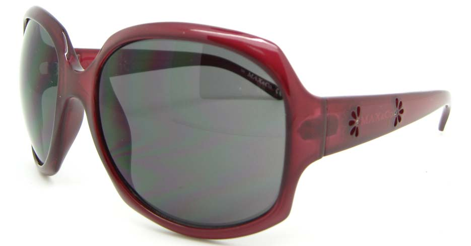 Wine Plastic Oval Leisure sunglasses   XL068