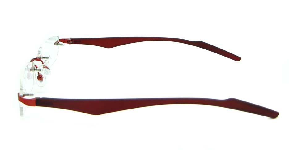 wine blend rectangular glasses frame  JNY-JIONG1197-H