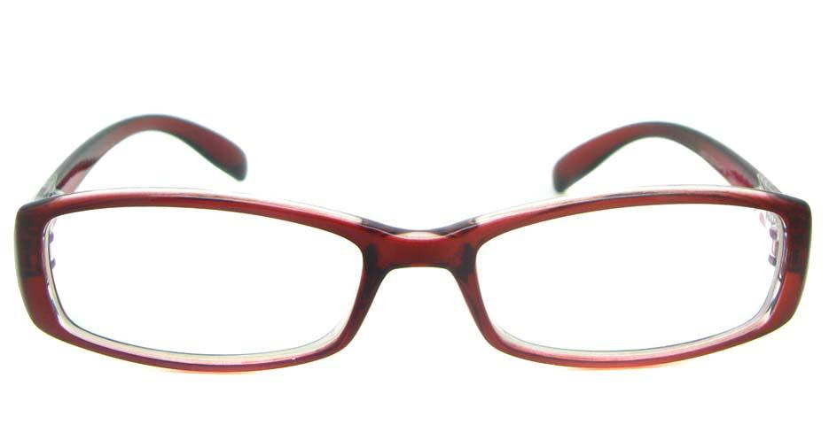 wine tr90 rectangular glasses frame YL-KLD8017-C5
