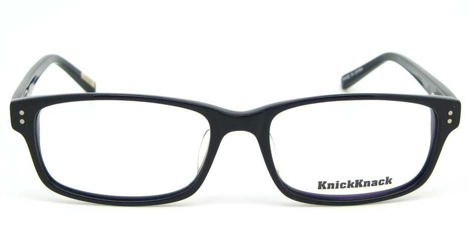 Black Acetate Rectangular glasses frame WKY-K1015-HS