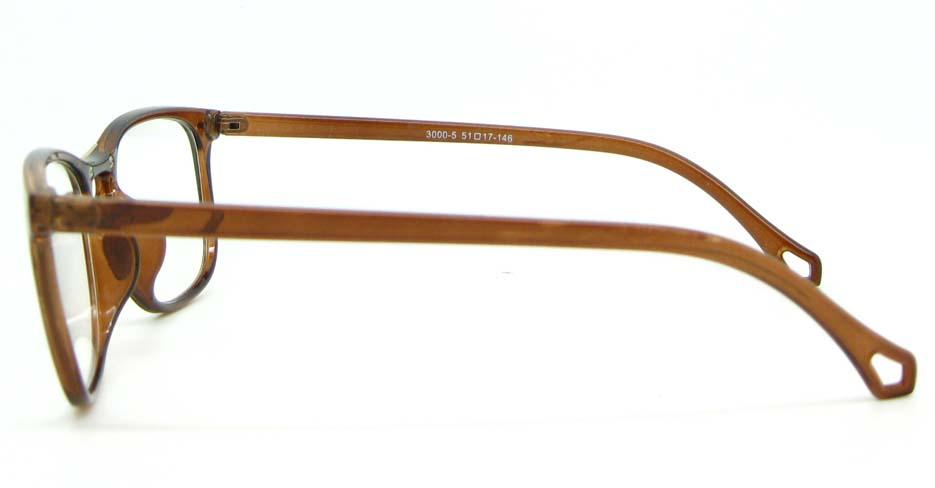 brown  blend Wayfarer  glasses frame WLH-3000-C5