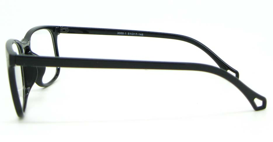 black blend Wayfarer  glasses frame WLH-3000-C1