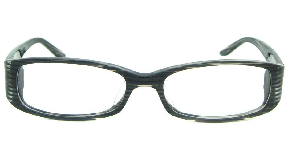 black  Rectangular  Plastic glasses frame YL-JB8288-C487