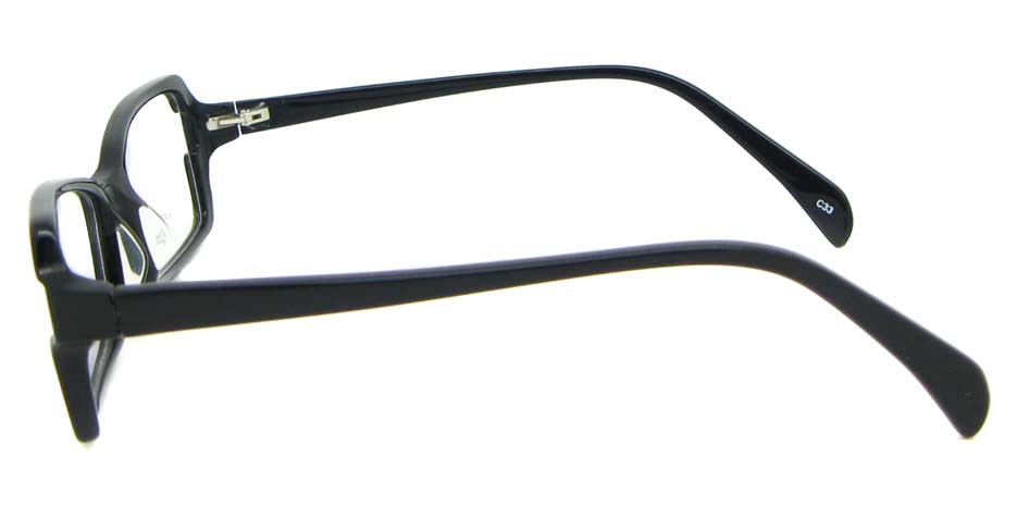 black oval Acetate glasses frame WKY-BL6184-C33