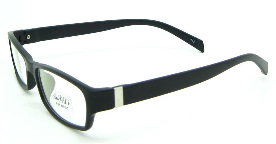 black tr90 rectangular glasses frame JNY-ASD2155-C12