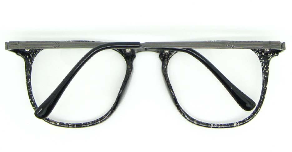 black Wayfarer blend glasses frame WLH-5025-C2