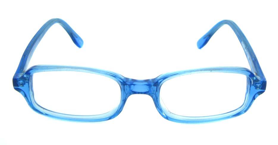 blue plastic rectangular glasses frame  JNY-BL6239-C112