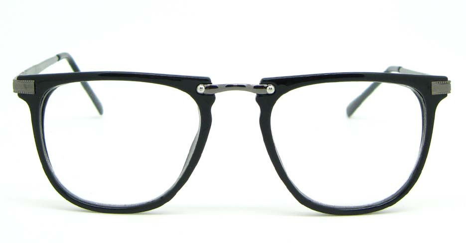 black Wayfarer blend glasses frame WLH-5025-C1
