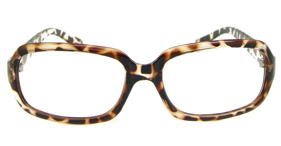 Tortoise blend oval glasses frame  WLH-OF515-C30
