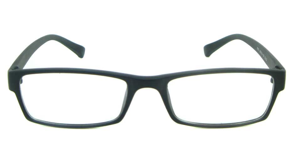 black Rectangular tr90 glasses frame YL-KLD8001-C2