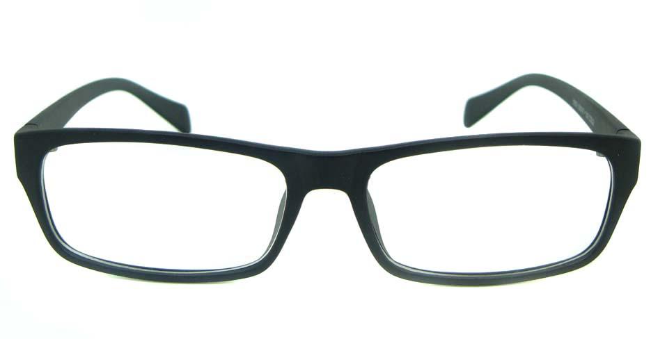 grey rectangular blend glasses frame YL-KLD8052-C2