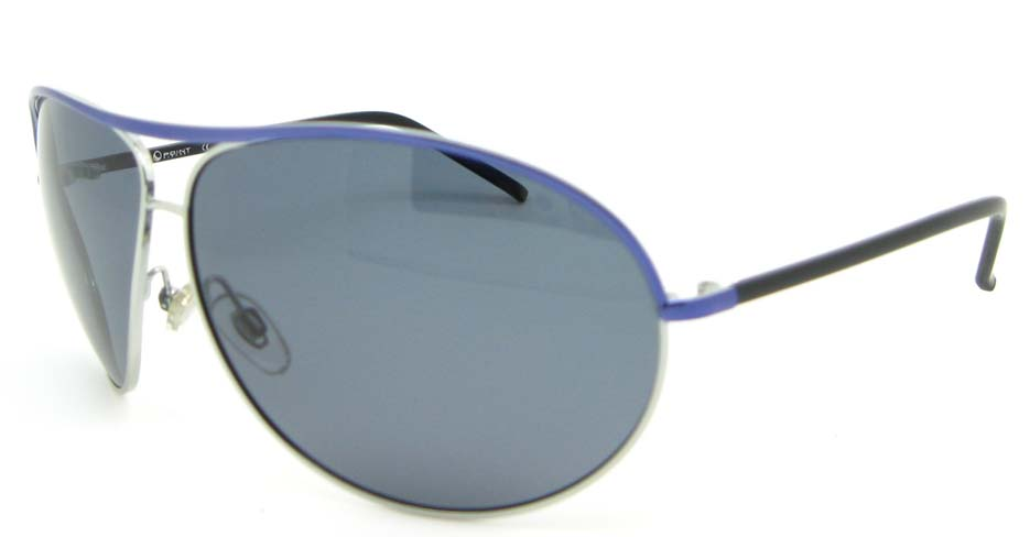 Aviator fashion Blue  Metal Half sunglasses  XL029