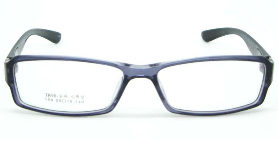 black tr90 Rectangular glasses frame JNY-MJN159-C10
