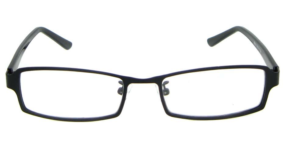 black blend rectangular glasses frame WKY-XDBL6892-HS