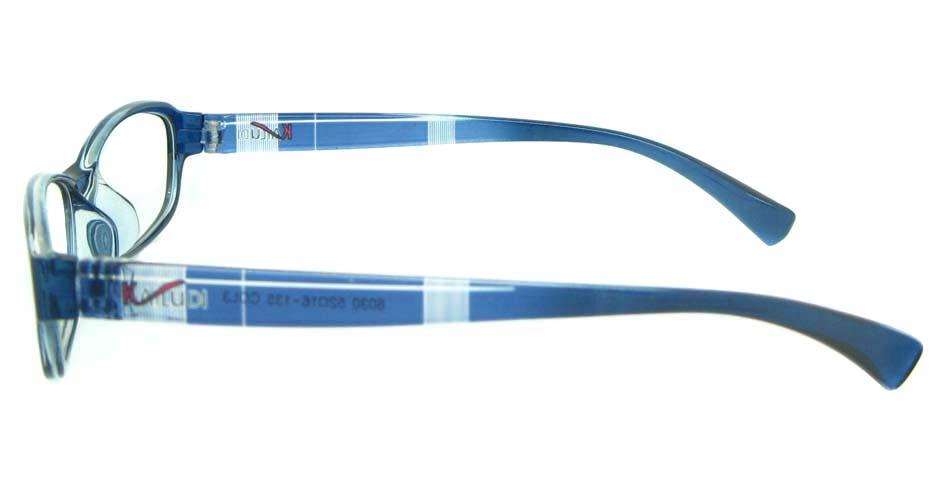 blue oval tr90 glasses frame YL-KDL8030-C3