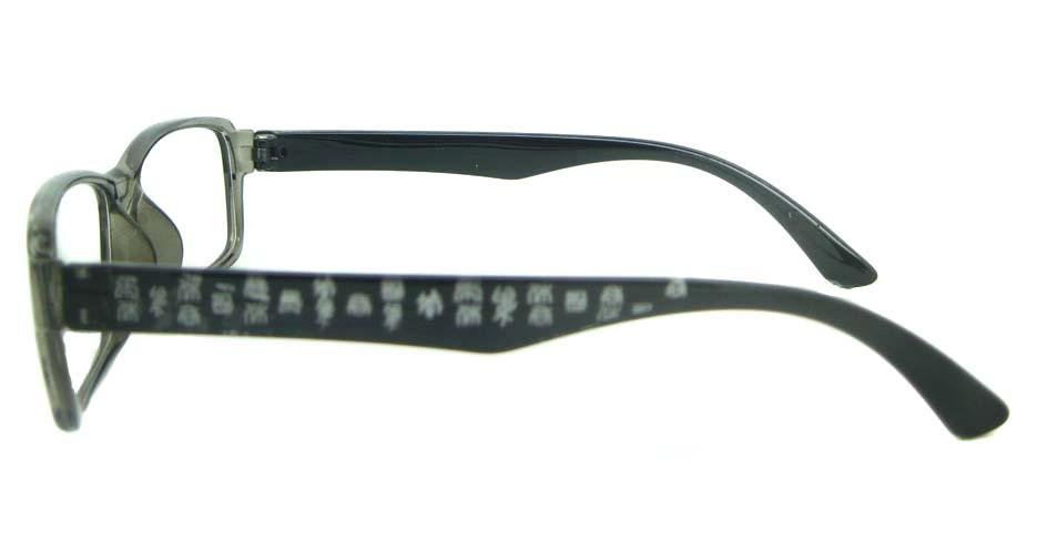 TR90 grey Rectangular glasses frame YL-KLD8014-C6