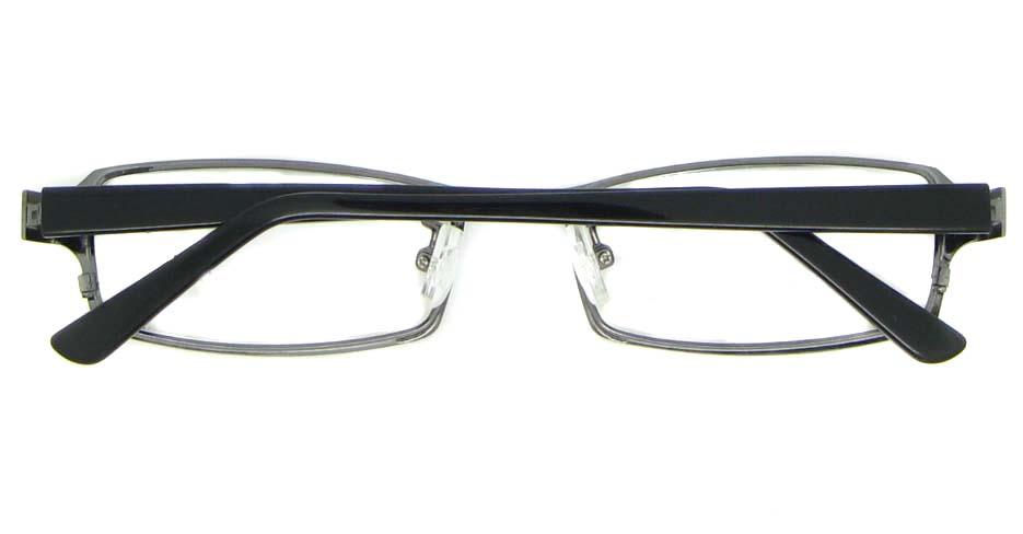 black blend rectangular glasses frame WKY-XDBL6892-Q